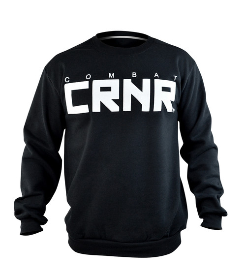CRNR Big Crewneck White