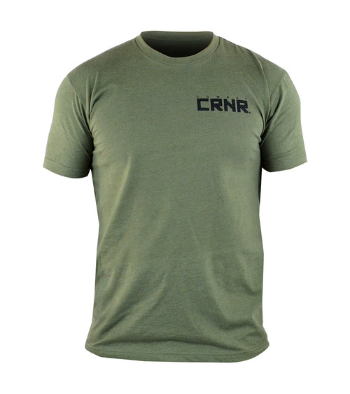 CRNR Reverse T-Shirt OD Green
