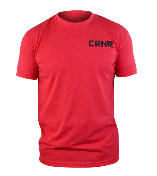 CRNR Reverse T-Shirt Red