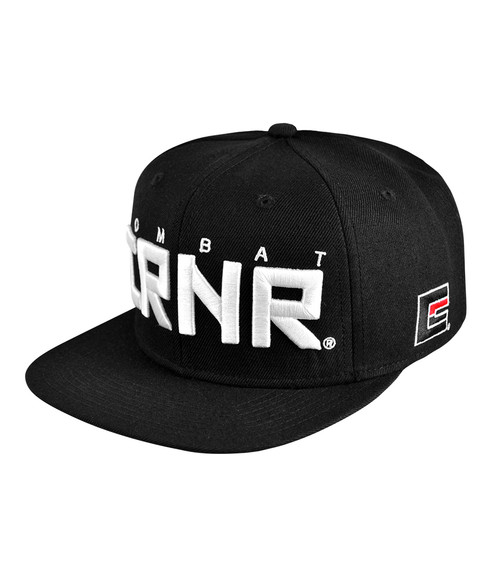 CRNR Snap Back Black