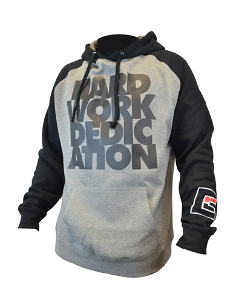 Hard Work Dedication Raglan Hoodie