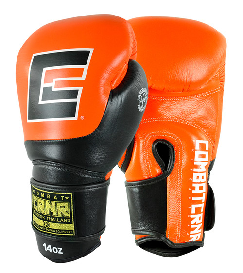 Orange Boxing Gloves, HMIT Boxing Gloves, Orange Muay Thai Gloves