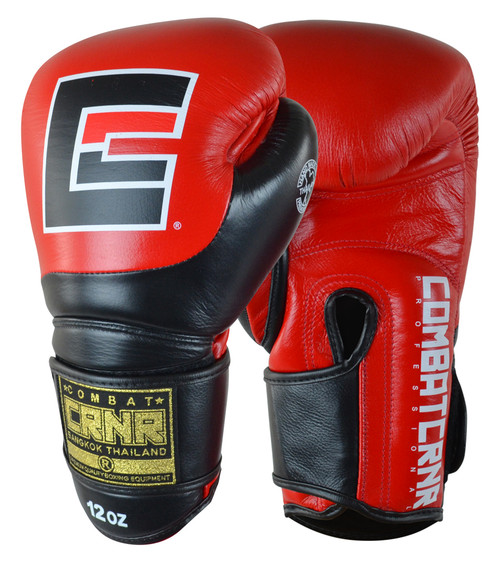 Muay Thai Gloves, Muay Thai Boxing Gloves, Red Boxing Gloves