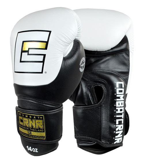 HMIT Champion Boxing Gloves White
