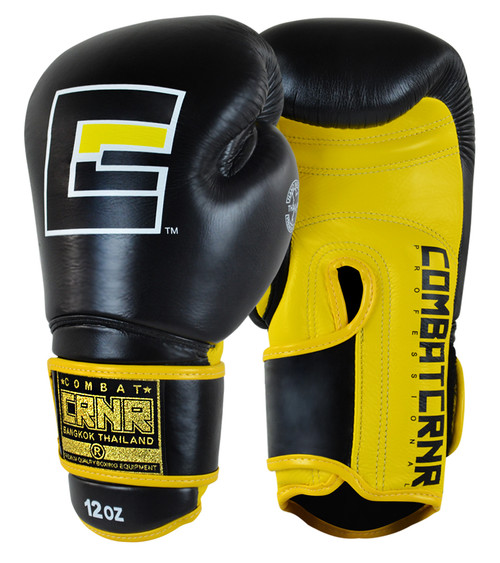 Yellow HMIT Boxing Gloves, HMIT Champion Boxing Gloves, Muay Thai Gloves