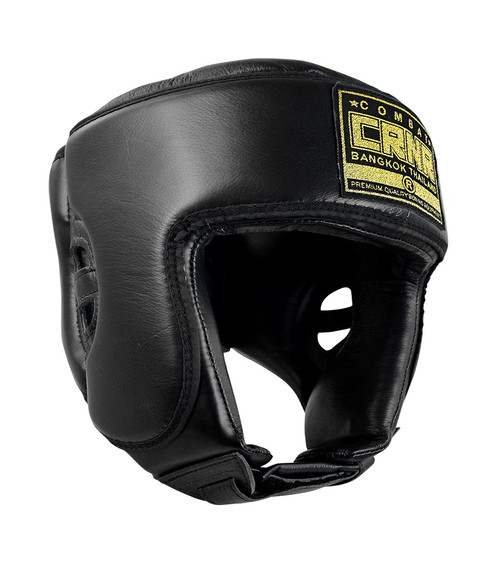 HMIT Open Chin Competition Headgear Black