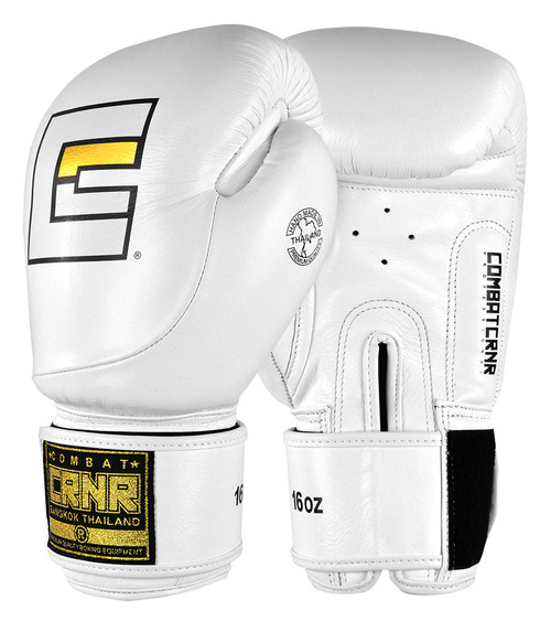 HMIT White Boxing Gloves