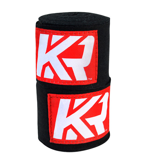 KRBON Hand Wraps Black