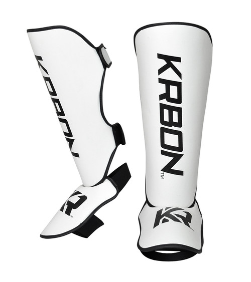 KRBON Shin Guards | White