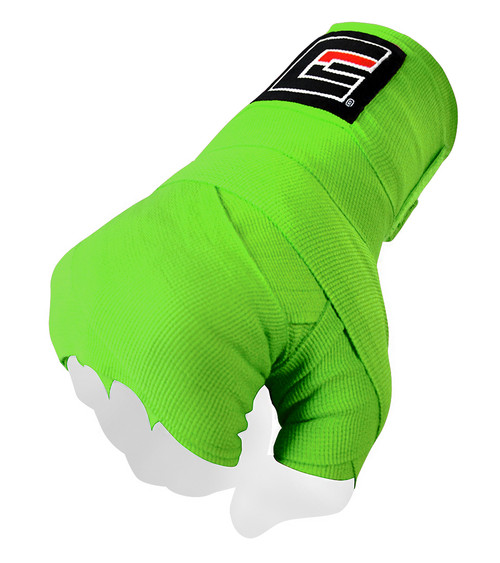 Neon Green Pro Hand Wraps for Boxing