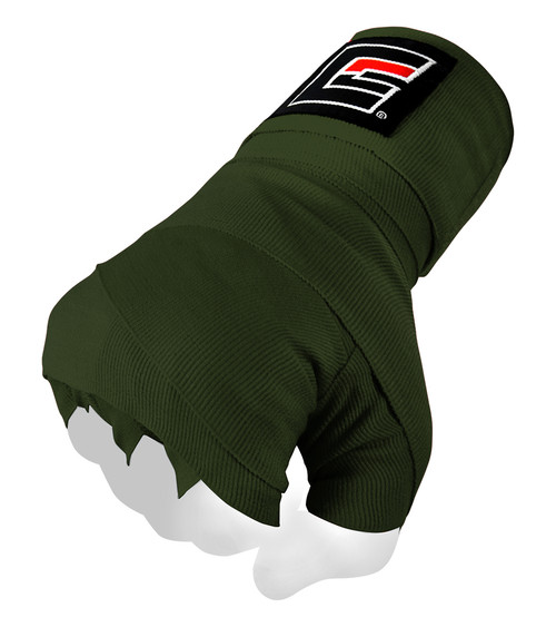 Olive Green Pro Hand Wraps for Boxing