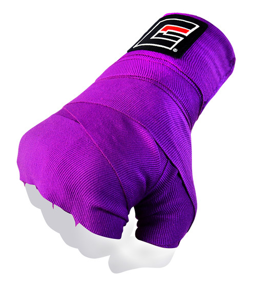 Purple Pro Hand Wraps for Boxing