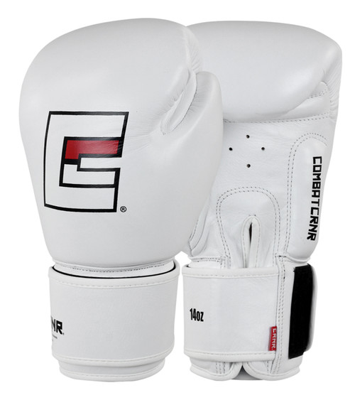 Proper Thai Boxing Gloves | White