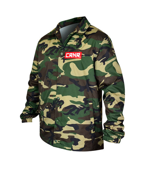 Punch | Choke Coaches Jacket Camo