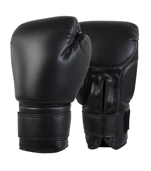 Black Boxing Gloves, Cheap Boxing Gloves, Economy Boxing Gloves, Trial Boxing Gloves