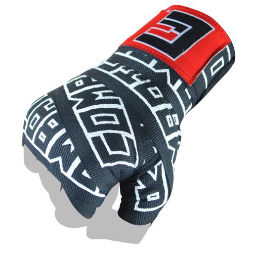 "Boxing Hand Wraps | 200"" Supreme Hand Wraps Black - Combat Corner"