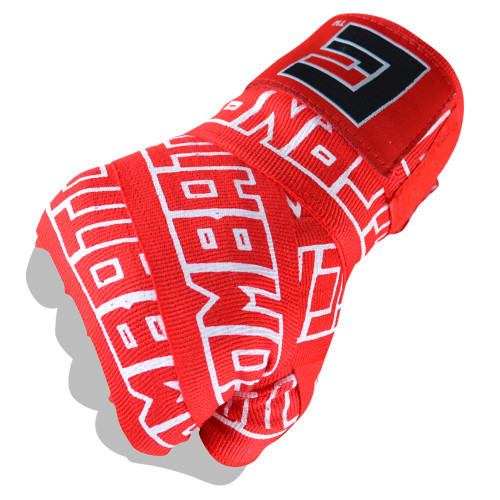 "Boxing Hand Wraps | 200"" Supreme Hand Wraps Red - Combat Corner"