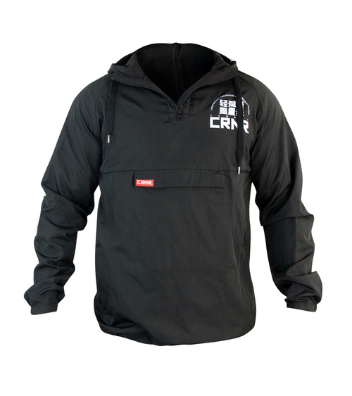 Tech Power Pull Over Windbreaker Black