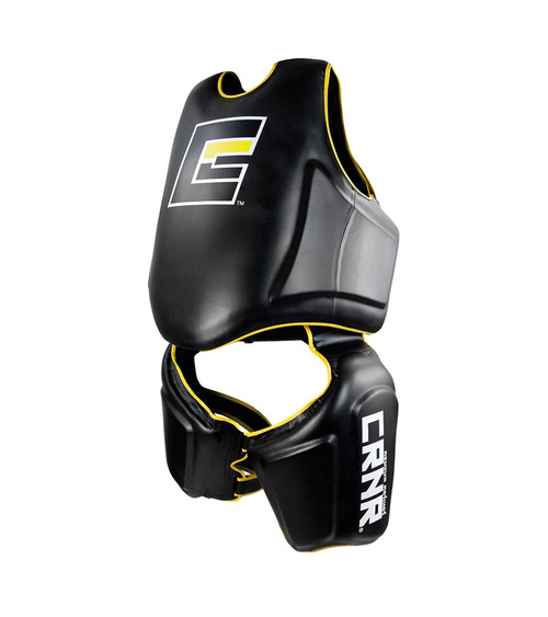 HMIT Trainer Set, HMIT Chest, Belly & Thigh Trainer Suit, Muay Thai Chest, Muay Thai Thigh Pads