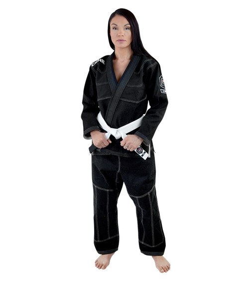 Women's Black v5 BJJ GI - FREE WHITE BELT [CLOSEOUT]