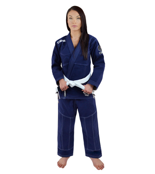Women's Navy v5 BJJ GI - FREE WHITE BELT [CLOSEOUT]