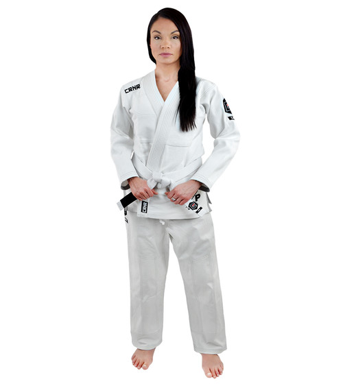 Women's White v5 BJJ GI - FREE WHITE BELT [CLOSEOUT]
