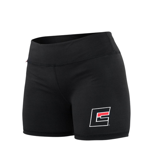 Womens Compression Fight Shorts Black
