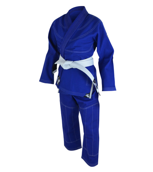 YoungStar Youth Brazilian Jiu Jitsu Form2 GI (Blue) - FREE WHITE BELT
