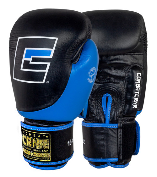 Cyan HMIT Boxing Gloves by Combat Corner