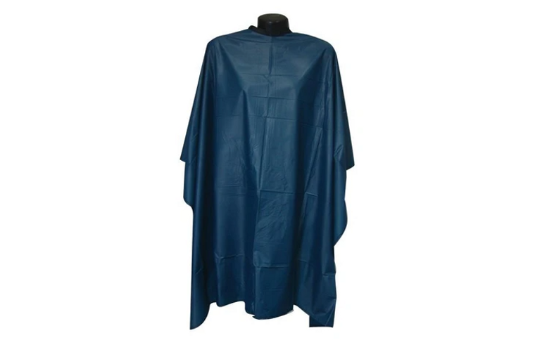 Blue  Nylon  Cutting Cape