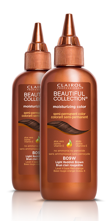 Moisturizing Color benefits include:  Revitalizes hair with a rich, indulgent color boost Blends gray Leaves hair feeling moisturized Enriched with Aloe Vera, Jojoba Oil and Vitamin E Gentle enough to use immediately after relaxing