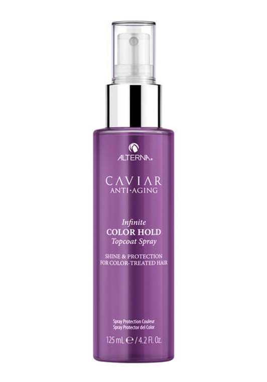 WHAT IT IS A lightweight finishing spray to lock in long-lasting vibrant color and provide shine. WHAT IT DOES Preserves hair color and vibrancy. Instantly amplifies multifaceted shine. Protects hair from humidity. WHAT ELSE YOU NEED TO KNOW • Free of added SLS/SLES  • Parabens-Free  • Phthalates-Free  • DEA/TEA-Free  • Free of Synthetic Color  • Suitable for color-treated hair
