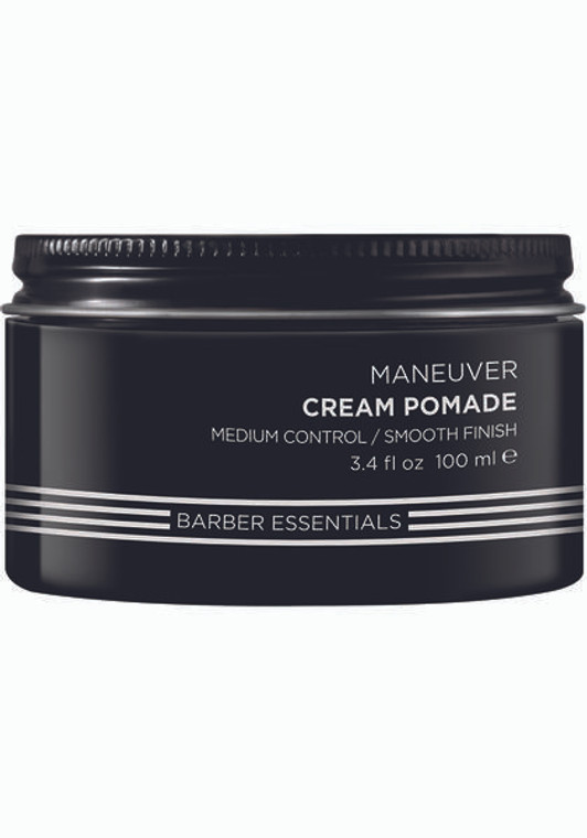 Brews Maneuver Cream Pomade 3.4 oz.