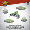 Martian Menace Unit: Saucers, Power Pods, & Hunter