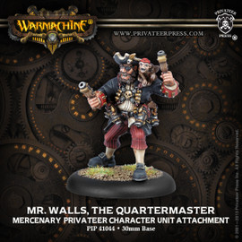 Mr. Walls, the Quartermaster