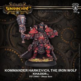 Kommander Harkevich, The Iron Wolf