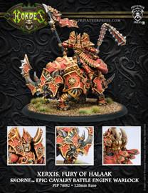 Xerxis, Fury of Halaak