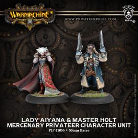Lady Aiyana & Master Holt