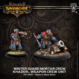 Winterguard Mortar Crew