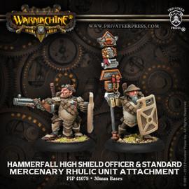 Hammerfall High Shield Officer & Standard