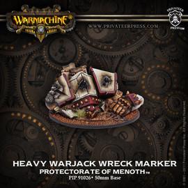 Protectorate Heavy Warjack Wreck Marker