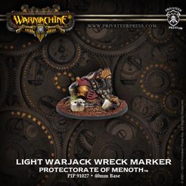Protectorate Light Warjack Wreck Marker