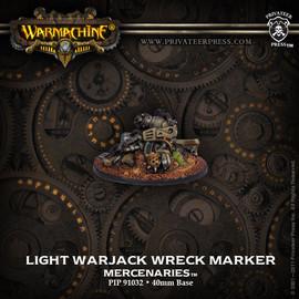 Merc Light Warjack Wreck Marker