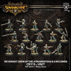 Revenant Crew of the Atramentous w/ 3 Riflemen
