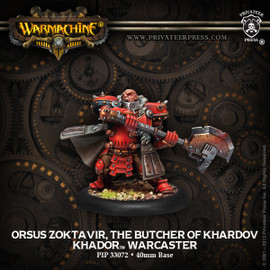 Orsus Zoktavir, The Butcher of Khardov