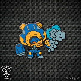 Chibi Ironclad Pin