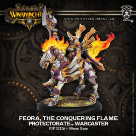 Feora, The Conquering Flame - Protectorate Warcaster