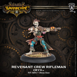 Cryx Revenant Crew Of Atramentous PIP 34119 NEW Warmachine