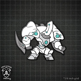Chibi Manticore Pin