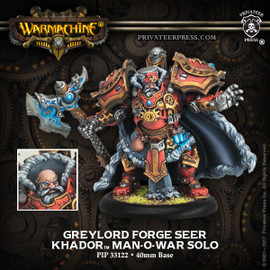 Greylord Forge Seer - Khador Solo